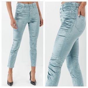 BDG UO Velvet High-rise Stairway pants, size M